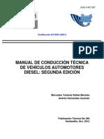 Manual de Conducción Técnica de Veh. Diesel 110 Pag