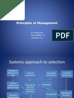 Principles of Management Presentation Ananya