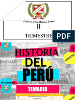 Historia del Perú II TRIMESTRE