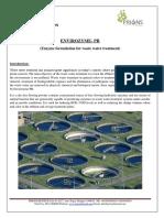 Waste Water Treatment Enzymes Organic Envirozyme Pr