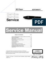 Philips BDP 2985 Service Manual
