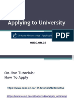 applying to university 2019