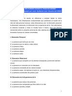 Lectura 2. VISIÓN DEL SER HUMANO DESDE EL FRANCISCANISMO