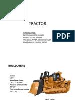 Tractor bull dozer