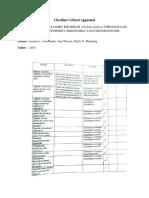Checklist Critical Appraisal Lbm 3