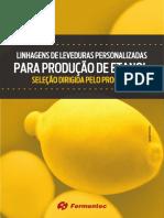 eBook - Leveduras Personalizadas Para Produção de Etanol - Fermentec