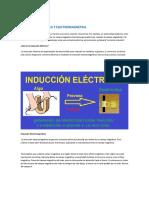 Induccion Electrica y Electromagnetica