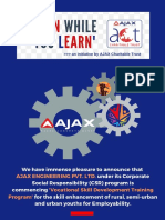 'EARN WHILE YOU LEARN' -  Vocational Skill Development Program-conducted by AJAX ENGG PVT. LTD..pdf