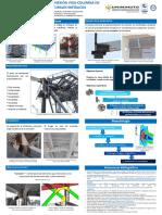 Poster - Propuesta de Diseño de Conexion Viga-columna en Elementos Estructurales Metálicos