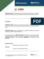 Ficha Técnica HidroCool 6580