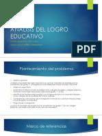 Analisis Del Logro Educativo