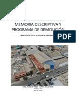 Fte_memoria de Demolicion
