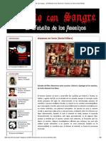 Escrito Con Sangre... ¡El Website de Los Asesinos!_ Asesinos en Serie (Serial Killers)