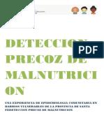 Deteccion Precoz de Malnutricion