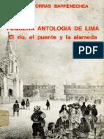 Porras Barrenechea () - Pequeña Antología de Lima