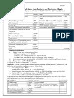 PGBP Questions