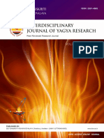Yagya Therapy in Vedic and Ayurvedic Literature a