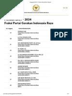 Fraksi Partai Gerakan Indonesia Raya