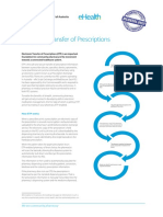 Electronic Transfer of Prescriptions