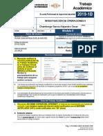 Epii-ta-6-Investigacion de Operaciones II 2019-1 Modulo II 1704-17308