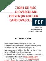 Factorii de risc cardiovasculari