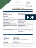 Informe Lacteos Del Cesar s A