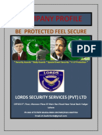 Company Profile Lords Security