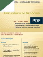 Fatec 2010 - Inteligência de Negócios