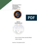 Ensayo - Investigacion Normas Apa