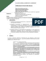 Informe N° 000-2019-MDY-GM-GAJ Sobre nulidad