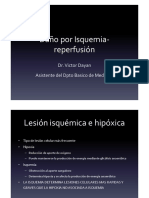 1- Isquemia y Reperfusion