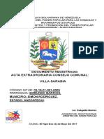 Acta Modificatoria 2017