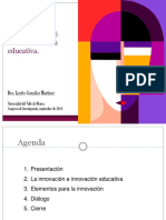 Voces sobre la Innovación Educativa