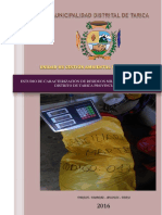 Estudio de Caracterizacion de Residuos Solidos Municipales Tarica