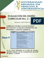 EVALUACIÓN DEL DISEÑO CURRICULAR Nro 2 item 9 al 11.pptx