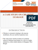 A Case Study on Chlorine Leakage From