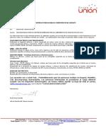 Convocatoria Interna y Referidos 005 2019