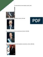 Presidentes de Ggautemala de 1993 Al 2024