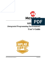 MPLABX 5.25 IPE User Guide