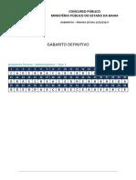 Mpba2017 Gabarito Definitivo