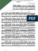 scarlatti sonata K 18
