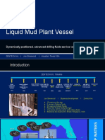 Liquid Mud Plant Vessel