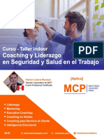 Taller Coaching Liderazgo Seguridad Salud
