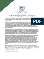 vic mun registration  2