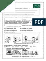 Simulado Portugues 2º