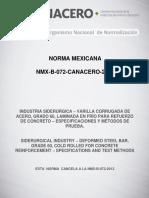 Nmx b 072 Canacero 2017 Unlocked