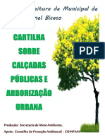 Cartilha Sobre Arborização Urbana do Município de Coronel Bicaco - RS