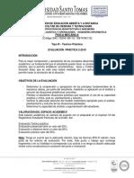 Evaluación Práctica Física Mecánica 2019-2