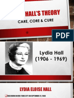 Lydia Halls Theory