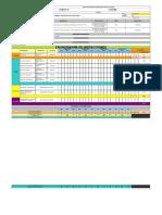 Formato Cronograma de Inspecciones